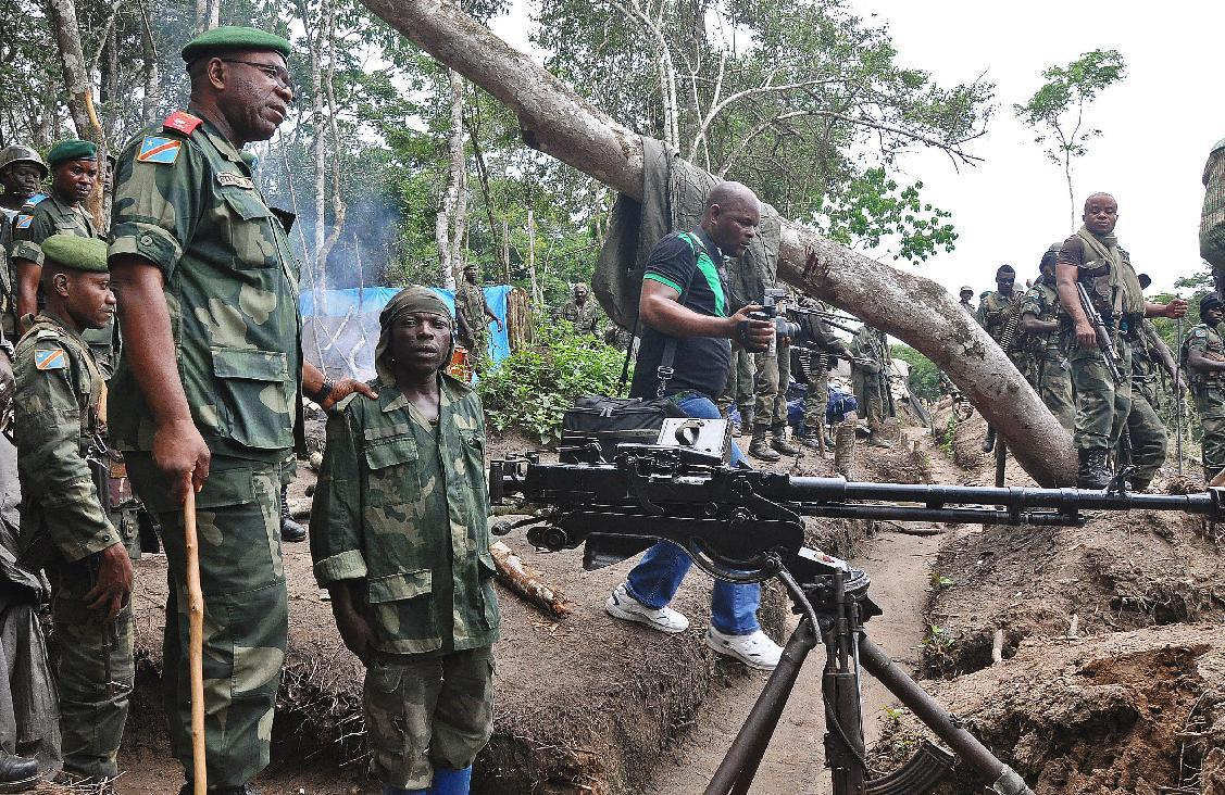 DR Congo says offensive against Hutu rebels underway