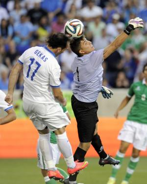 Greece edges Bolivia 2-1 in World Cup warm-up