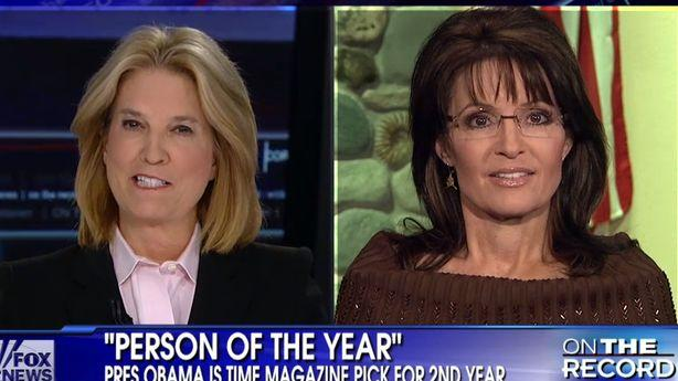 Sarah Palin Picks on 'Time' as Irrelevant for Picking Obama as Person of the Year