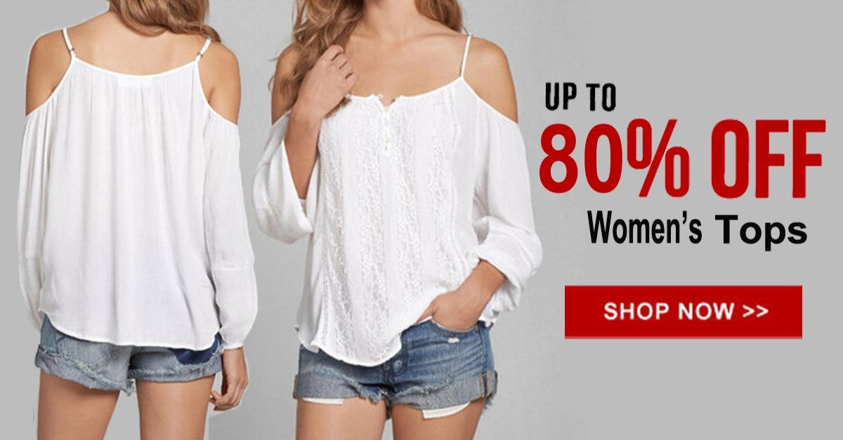 Hot Selling Women's Tops From $5