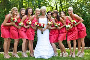 How to determine when to take advantage of your bridesmaids' assistance (and which tasks you're better off tackling alone).