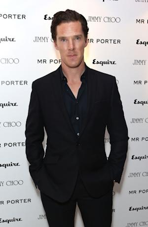 Benedict Cumberbatch arrives for the Esquire, Mr Porter, Jimmy Choo party as part of The Men London Collections at Corinthia Hotel London on June 15, 2012 -- Getty Images