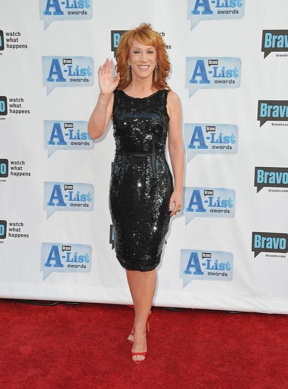 Kathy Griffin arrives at Bravo's 2nd Annual A-List Awards at The Orpheum Theatre on April 5, 2009 in Los Angeles, California. Kathy Griffin