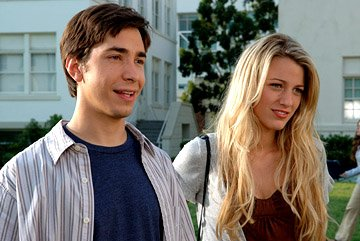 Justin Long and Blake Lively in Universal Pictures' Accepted
