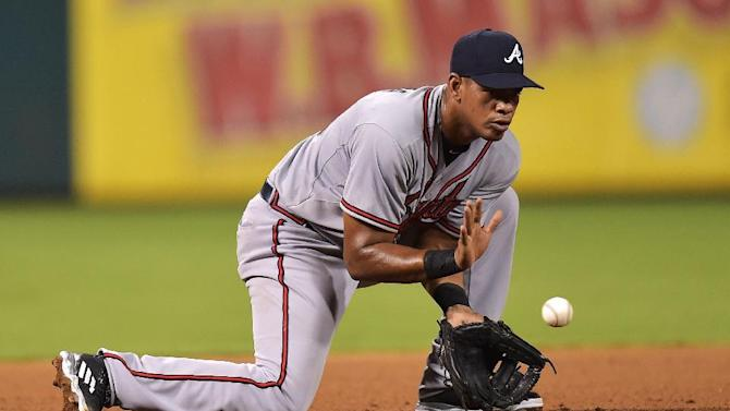 Hector Olivera of the Atlanta Braves has been suspended for 82 games by Major League Baseball for violating its domestic violence policy