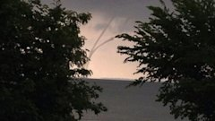 HT water spout sk 140710 16x9 608 Sunrise Images Capture Waterspout on Lake Erie