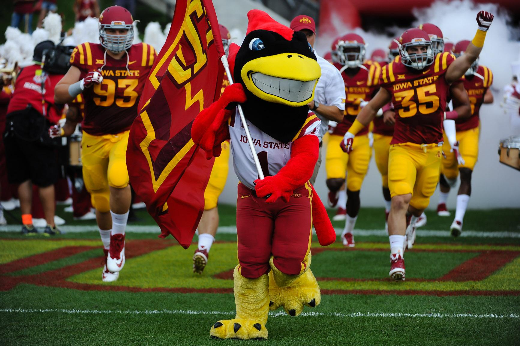 Iowa State's Devlyn Cousin suspended after domestic assault charge