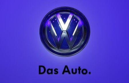 File photo of the logo of Volkswagen