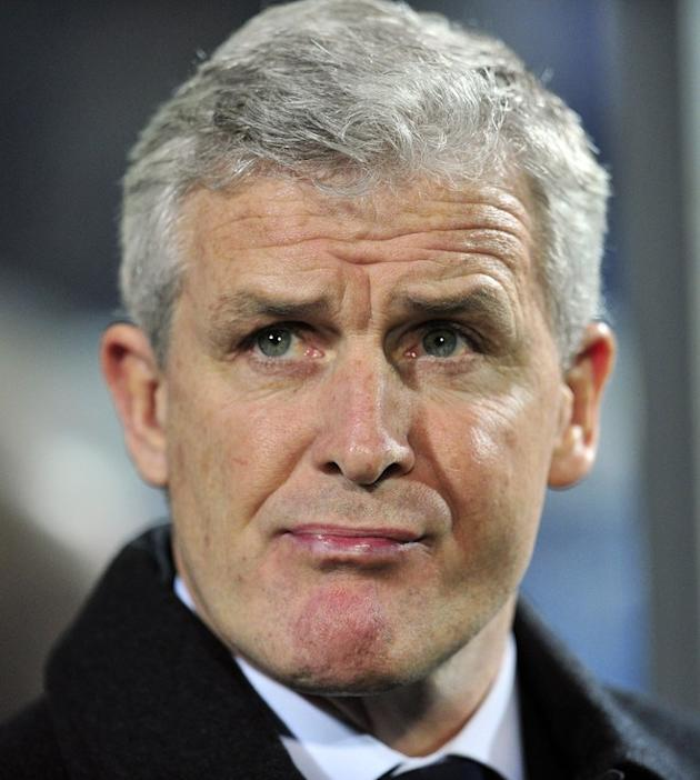 Queen's Park Rangers' English Manager Mark Hughes Looks On   AFP/Getty Images