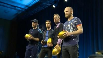 Coldplay Says They 'Called the Right Guests' to Join Them For Super Bowl Halftime Show