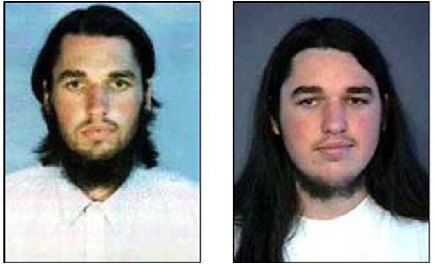 FILE - These undated photos released by the FBI show Adam Yahiye Gadahn. Born Adam Pearlman in Oregon, Gadahn converted to Islam in 1995 and moved to Pakistan, where he joined al-Qaida as a propagandi