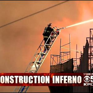 San Francisco Firefighter On Ladder Called A Hero