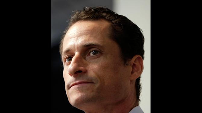 "FILE - In a June 16, 2011 file photo, Anthony Weiner speaks to the media during a news conference in New York. Former U.S. Rep. Weiner, who resigned over a sexting scandal in 2011, says he's weighing a run for New York City mayor this year. The Democrat tells New York Times Magazine  ""it's now or maybe never for me."" But he acknowledges that it's a long shot because some people ""just don't have room for a second narrative about me.""He says he doesn't know when he'll decide on entering the race, and concedes he'd be an underdog. (AP Photo/Seth Wenig, File)"
