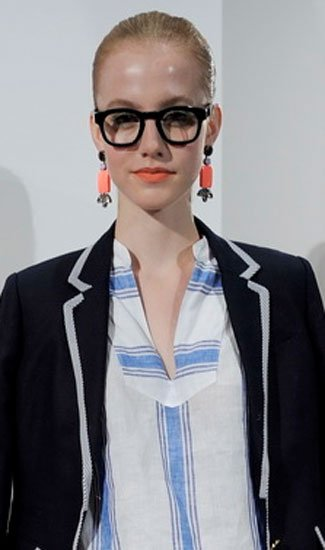 Top 5 Beauty Tips For Glasses Wearers As Seen On The SS13 Catwalks And The Stars
