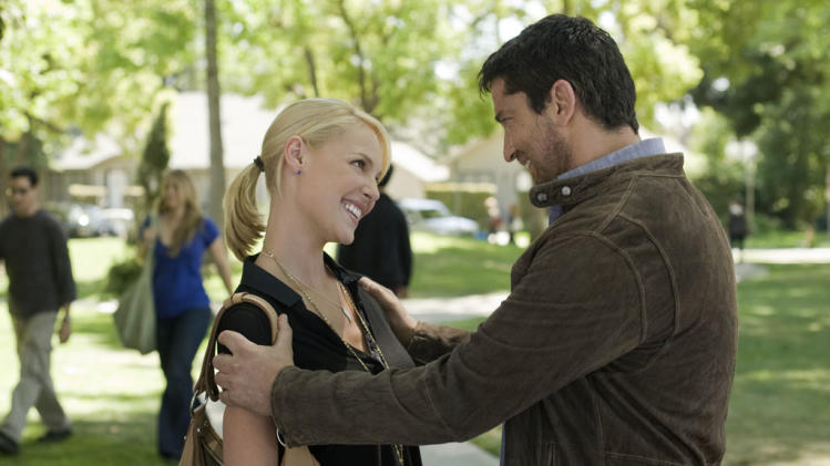Katherine Heigl Gerard Butler The Ugly Truth Production Stills Columbia Pictures 2009