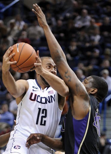 UConn beats Washington 61-53