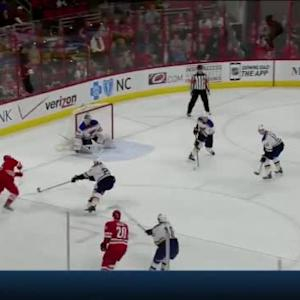 Jake Allen Save on Jeff Skinner (13:06/3rd)