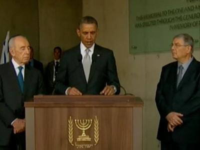 Obama Wraps Up Israel Visit With Symbolic Stops