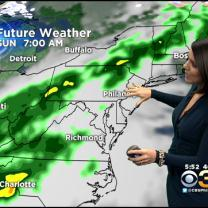 Kate's Friday Evening Forecast At 5 PM: December 26, 2014