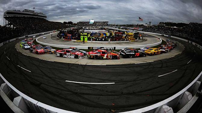 Entry list for STP Gas Booster 500