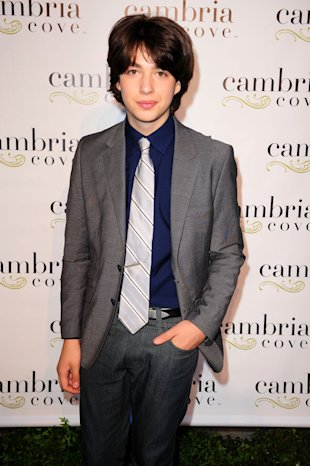 Child prodigy Greg Grossman hits the red carpet. (Getty Images)