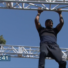 Usher Dominates 'Ninja Warrior' Course