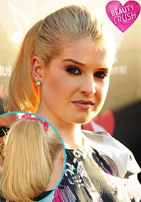 Beauty Crush: Kelly Osbourne's Pretty Ponytail