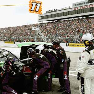 Hamlin sidelined after fueling issue