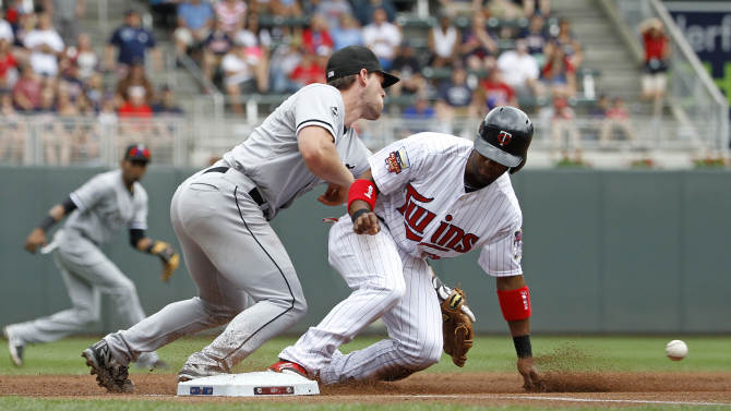 Mauer, Twins beat White Sox 6-5 for 4-game sweep