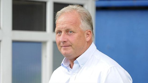 Kevin Blackwell was not happy after watching his side's derby defeat at Spotland