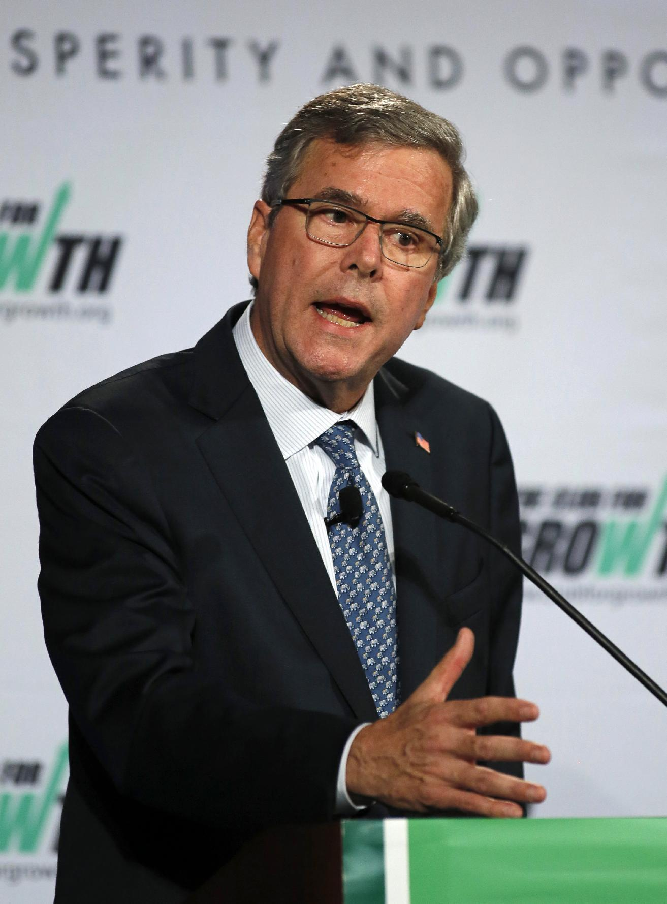 Bush: I'm a conservative, with a record of fiscal prudence