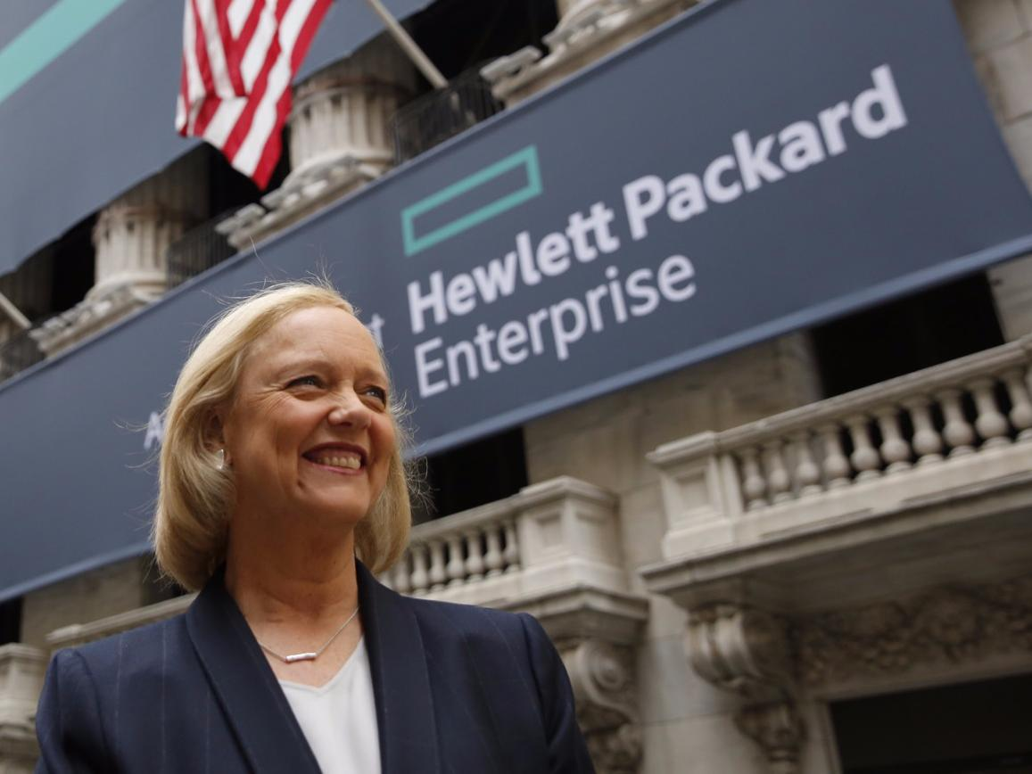 Meg Whitman's big new Microsoft cloud partnership is a lot like the one Microsoft already signed with Dell
