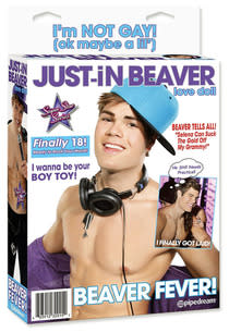 Justin Bieber Sex Doll | Photo Credits: Pipedream Products