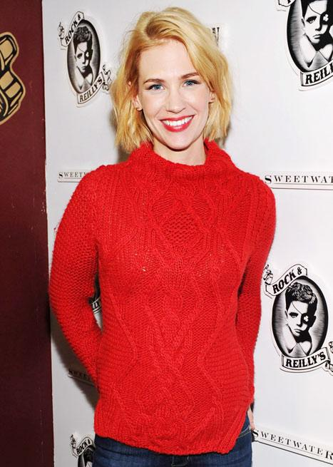 January Jones Goes Back to Blonde!