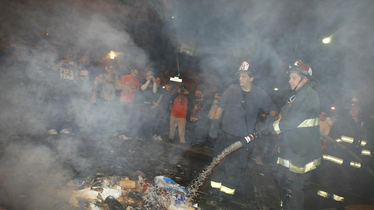 San Francisco Baseball Fans Celebrate Giants World Series Win