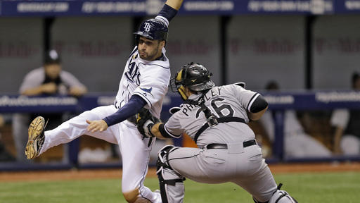 White Sox eliminate Rays from playoff contention