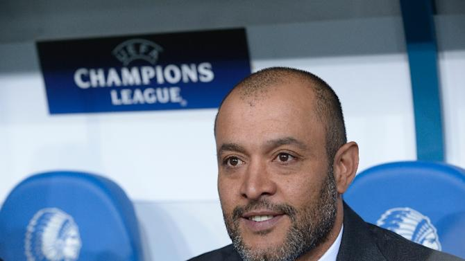 Valencia's coach Nuno Espirito Santo, pictured on November 4, 2015, said following a 1-0 defeat to Sevilla that he was resigning