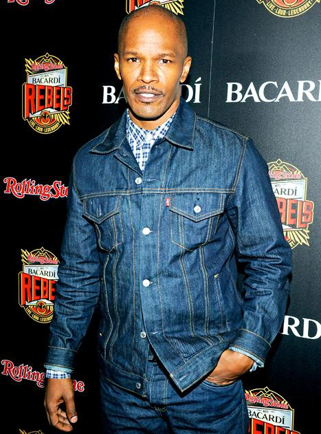 Jamie Foxx Parties With Rolling Stone in NYC