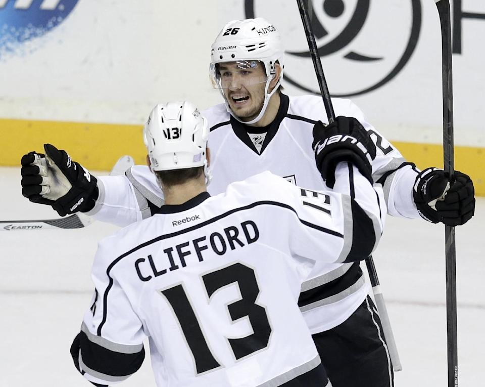 Kopitar scores in shootout, Kings win 2-1