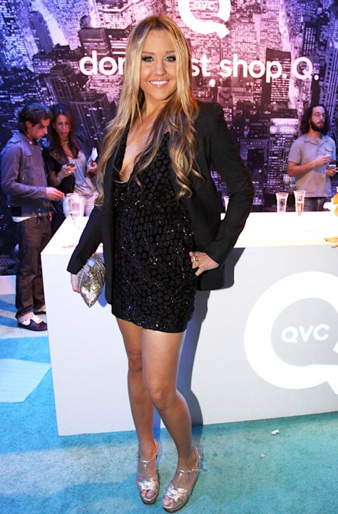 Amanda Bynes attends the QVC Style Live celebration during Mercedes-Benz Fashion Week Spring 2010 at Bryant Park on September 12, 2009 in New York City. 