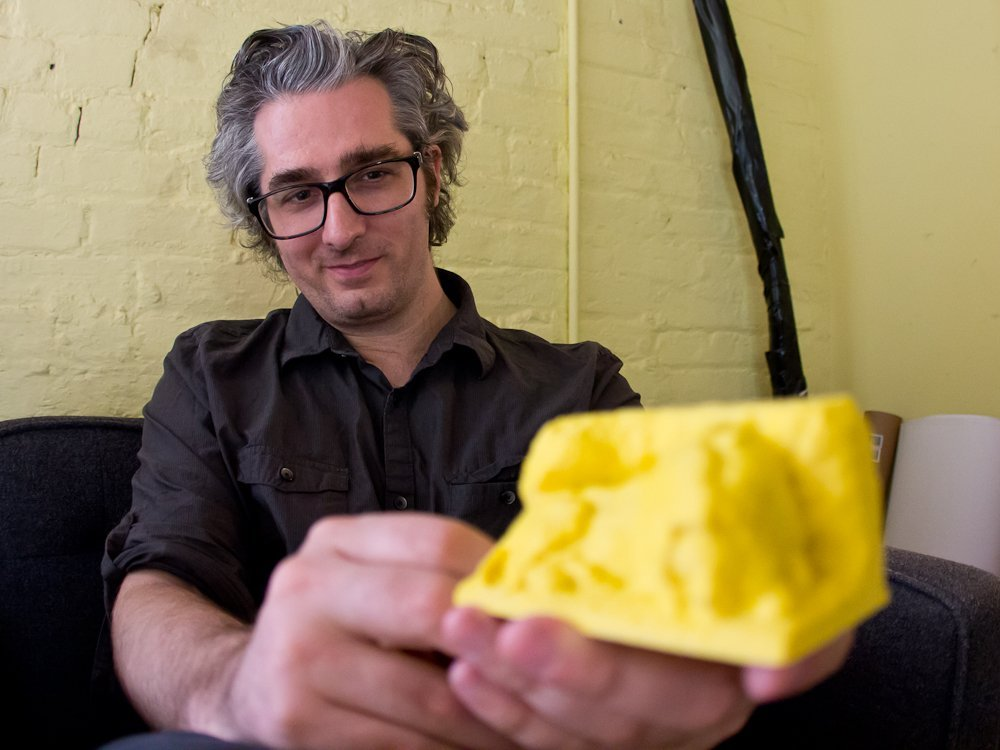 bre pettis, makerbot, june 2012, bi, dng