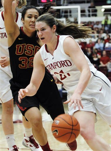 Ogwumike leads No. 6 Stanford women past USC