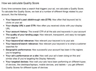Crudely Reverse Engineering Google Adwords Quality Score Formula image How Google calculate Adwords quality score