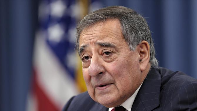 """FILE - In this Feb. 13, 2013 file photo, outgoing Defense Secretary Leon Panetta speaks during his last news conference as defense secretary. at the Pentagon. The U.S.-led military coalition in Afghanistan incorrectly reported a decline in Taliban attacks last year, and officials said Tuesday that there was actually no change in the number of attacks on international troops from 2011 to 2012. In mid-December, Panetta said """"violence is down,"""" in 2012, and that Afghan forces """"have gotten much better at providing security"""" in areas where they have taken the lead role. He said the Taliban can be expected to continue to attack, """"but overall they are losing.""""    (AP Photo/Susan Walsh, File)"""
