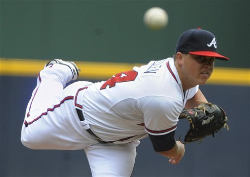 Medlen Strikes Out 12, Braves Beat Rockies, 6-1