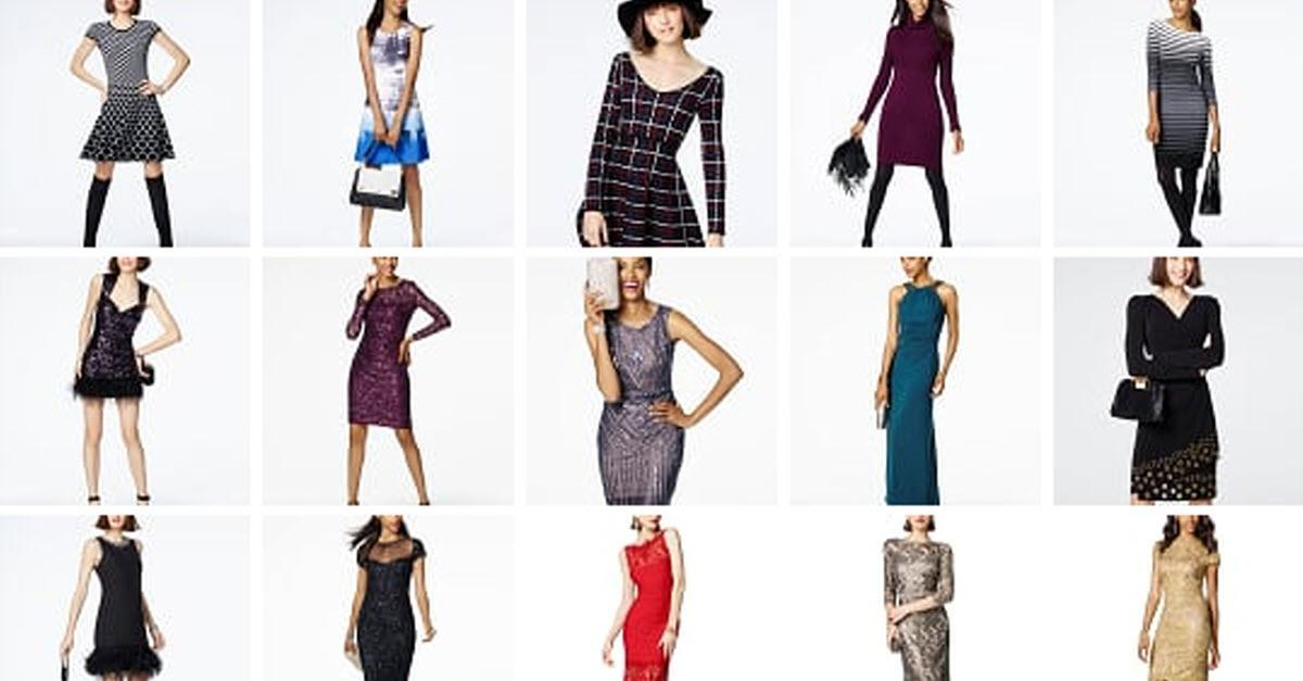 Fall Dresswear Starts at Macy's