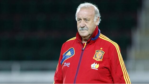 World Cup - Del Bosque 'to leave Spain job after Brazil 2014'