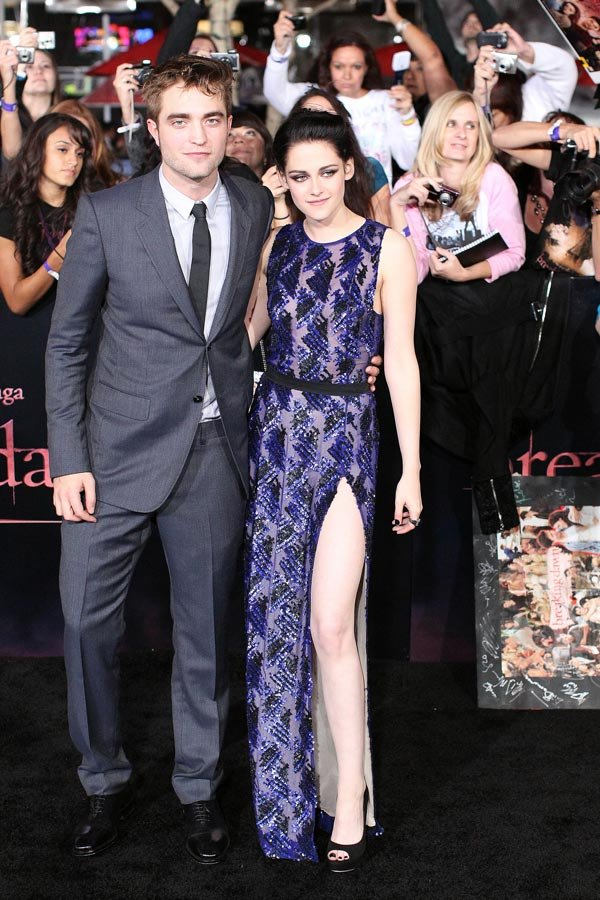 Robert Pattinson & Kristen Stewart: Named Best Dressed In The World