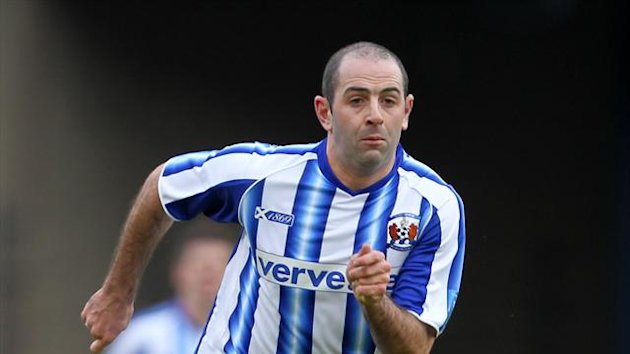 Gary Harkins has left Kilmarnock for Dundee