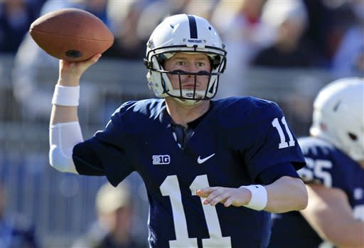 Penn State takes to air to beat Indiana 45-22